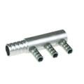 3CYL Gas Distributor Aluminium 6mm