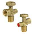 """G5/8"""" POL LH LPG cylinder handwheel valve Cavagna"""