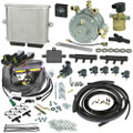 Romano Antonio 6 cylinders injection system autogas LPG conversion kit with reducer injectors and all accessories full