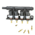 supernova autogas lpg cng injector decent 4 cylinders rail