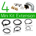 4CYL Full Front Extension Kit - Hoses and Clips Kit