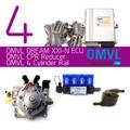OMVL Dream XXI-N 4 Cylinder LPG Autogas Conversion Mini Kit