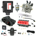 king mp48 4 cylinders ecu lpg controller with valtek cpr reducer and valtek type 32 injectors autogas lpg conversion kit