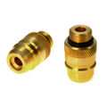 UK Bayonet (W21.8) to EURO Connector LPG Autopgas Propane Filling Point Adapter