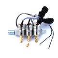 MAGIC JET FX LPG CNG 3 Cylinders Injectors Rail with Nozzle HL Propan