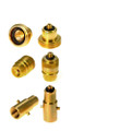 Set of 3 adaptors converting M10 Dish (PL) LPG Filling Point to European countries filling nozzles