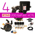 AC STAG 200 GoFast 4cylinder lpg autogas cng conversion kit