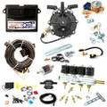 ac stag qbox basic 4 cylinders ecu lpg controller with r01 150hp reducer and w01 injectors autogas lpg conversion kit