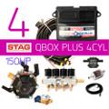 AC STAG 4Cylinder Q Box Plus OBD ECU Controller Kit Autogas LPG CNG wiring loom