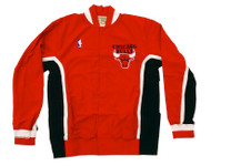 Chicago Bulls Mitchell & Ness Authentic Warmup Red Jacket