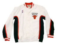 Chicago Bulls Mitchell & Ness Authentic Warmup White Jacket