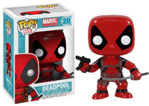 Deadpool Red Original Pop! MARVEL Vinyl Figure