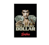 Scarface Get Every Dollar Blockmount Wall Hanger