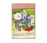 Regular Show Group Blockmount Wall Hanger