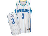 Charlotte Hornets Chris Paul Home White Adidas Swingman Jersey