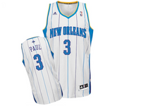 Charlotte Hornets Chris Paul Home White Adidas Swingman Jersey