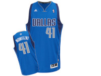 Dallas Mavericks Blue Away Adidas Swingman Jersey