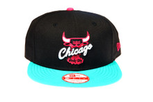 Chicago Bulls New Era Custom South Beach Logo New Era Snapback