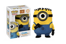 Carl - Minion from Despicable Me - Pop Movies Vinyl Figure