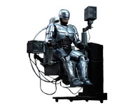 ROBOCOP 1/6TH Scale Hot Toys Figure with Docking Station