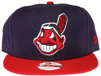 Cleveland Indians On Field New Era Snapback Hat