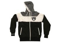 Brooklyn Nets Mitchell & Ness Trade Rumors Hooded Windbreaker Jacket
