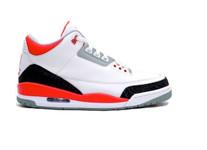 Air Jordan III (3) Fire Red Retro Shoes