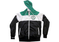 Boston Celtics Mitchell & Ness Trade Rumors Hooded Windbreaker Jacket