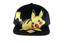 Pikachu Pokemon Officially Licensed Snapback Hat