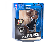 Paul Pierce Brooklyn Nets NBA Basketball McFarlane Toys 6-Inch Action Figure