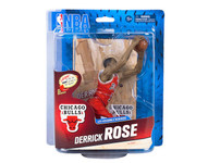 Derrick Rose Chicago Bulls NBA Basketball McFarlane Toys 6-Inch Action Figure