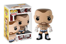 CM Punk WWE - Pop! WWE Vinyl Figure
