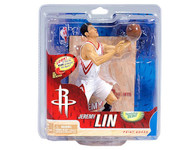 Jeremy Lin Houston Rockets NBA Basketball McFarlane Toys 6-Inch Action Figure