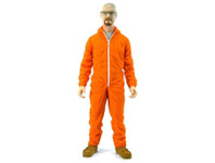 "Breaking Bad 6"" Walter White - Orange Hazmat Suit Action Figure"