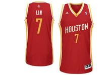 Jeremy Lin Houston Rockets Adidas Swingman Jersey