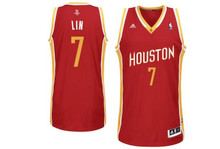 Jeremy Lin Houston Rockets Adidas Swingman Jersey