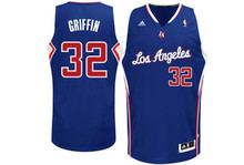 Blake Griffin Los Angeles Clippers Blue Adidas Swingman Jersey