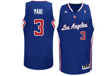 Chris Paul Los Angeles Clippers Blue Adidas Swingman Jersey