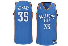 Kevin Durant Oaklahoma City Thunder Adidas Swingman Jersey
