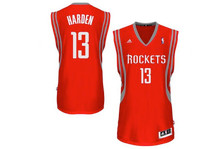 James Harden Houston Rockets Red Adidas Swingman Jersey