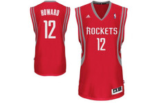 Dwight Howard Houston Rockets Red Adidas Swingman Jersey