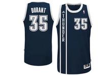 Kevin Durant Oaklahoma City Thunder Navy Adidas Swingman Jersey
