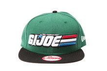 GI Joe Logo New Era Snapback Hat