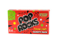 Pop Rocks Popping Candy Variety Pack - 0.8 oz Theatre Box !