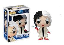 Cruella De vil 101 Dalmatians - Pop! Movies Vinyl Figure