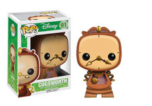 Cogsworth Beauty and the Beast - Pop! Movies Vinyl Figure
