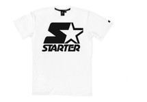 Starter Black on White T-Shirt