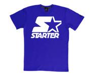 Starter White on Royal Blue T-Shirt