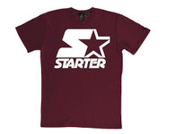 Starter White on Red T-Shirt
