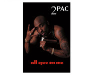 Tupac All Eyez On Me Blockmount Wall Hanger